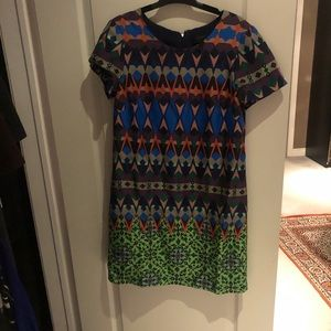 Jcrew printed dress